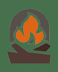Fireplace Logo Sky